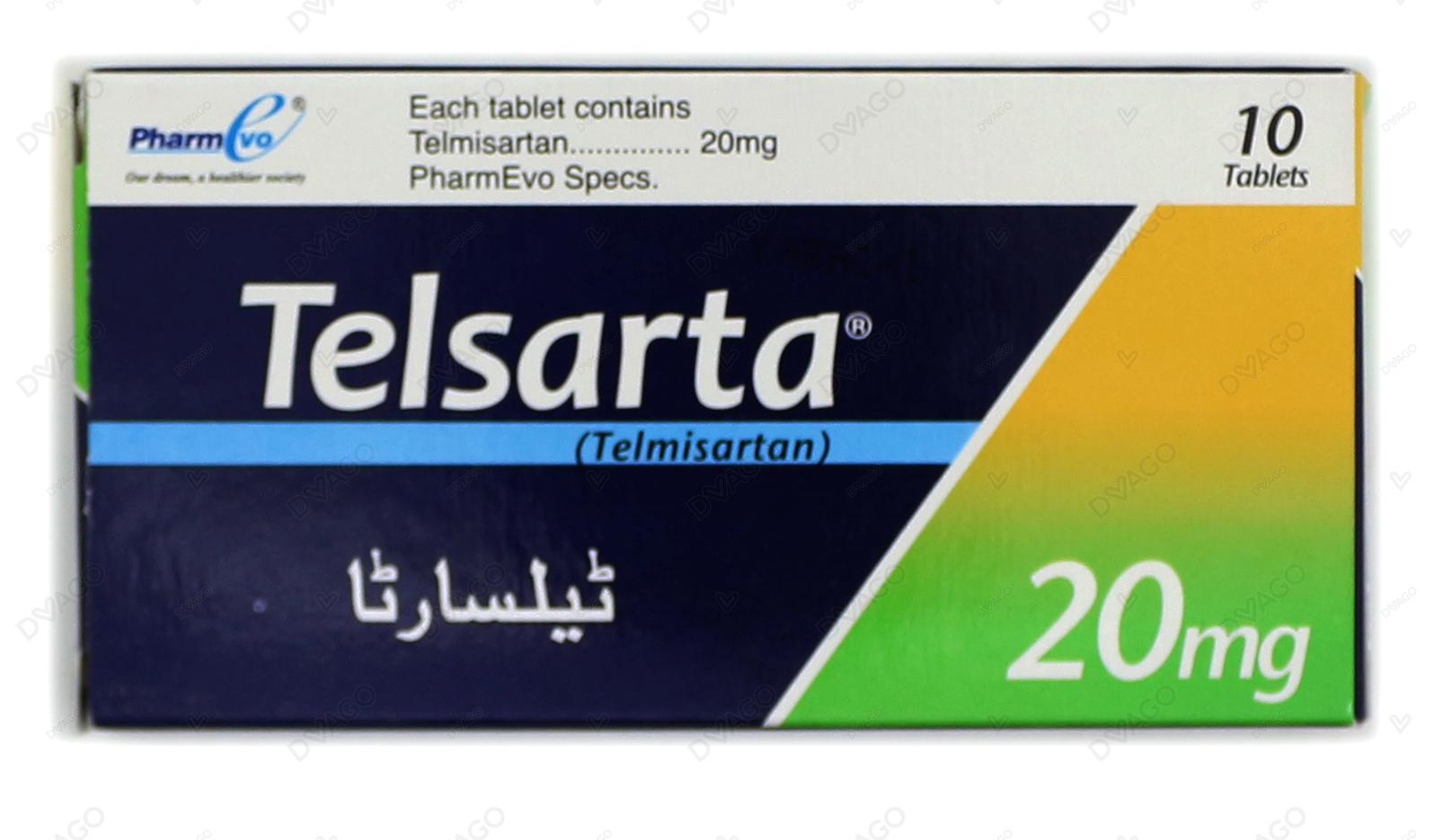 Telsarta Tablets 20mg 10's