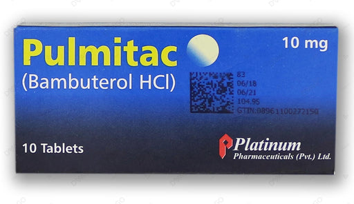 Pulmitac Tablets 10mg 10's