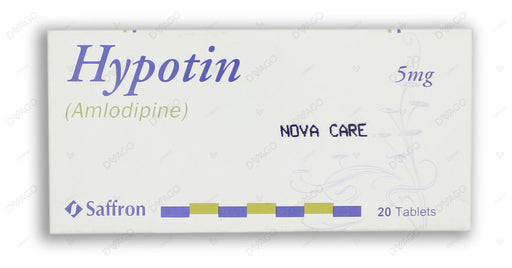 Hypotin Tablets 5mg 2X10's