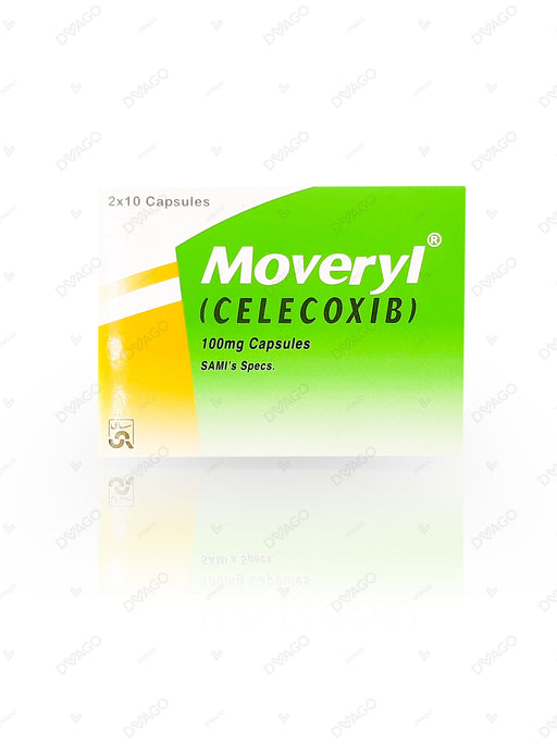 Moveryl Capsules 100mg 20's