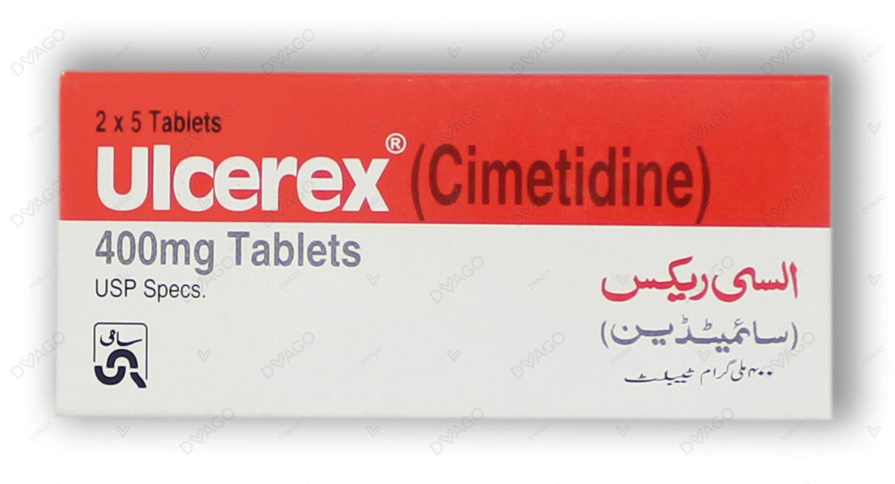 Ulcerex Tablets 400mg 10's