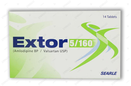 Extor Tablets 5/160mg 14's