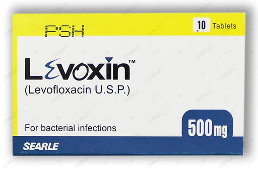 Levoxin Tablets 500mg 10's