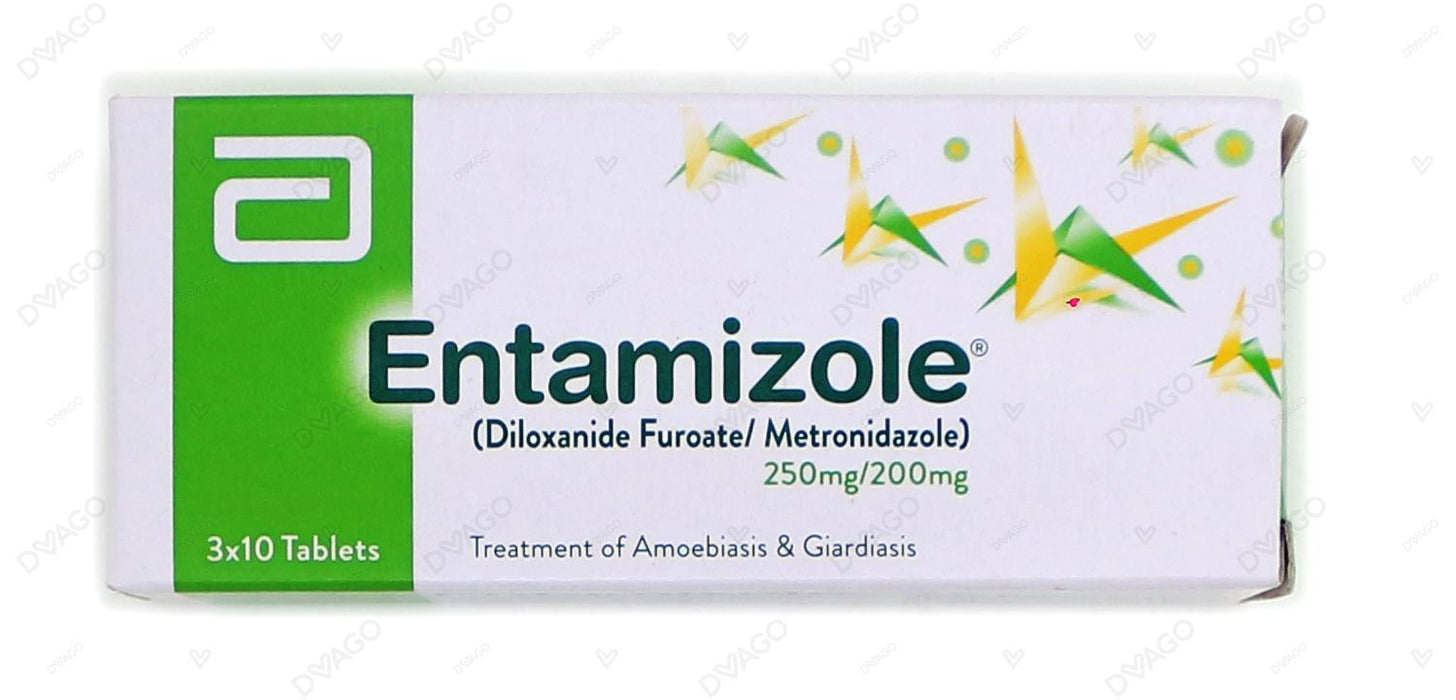 Entamizole Ss Tablets 3X10's