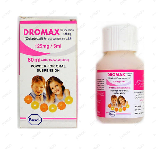 Dromax Suspension 125mg 60ml