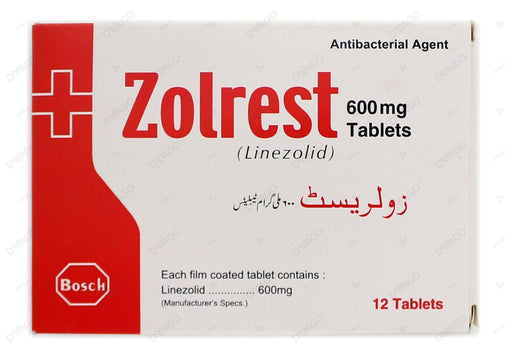 Zolrest Tablets 600mg 2X6's