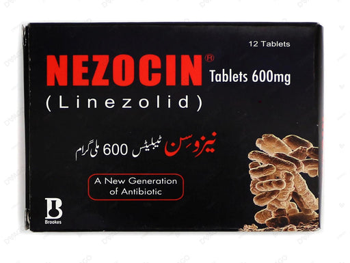 Nezocin Tablets 600mg 2X6's