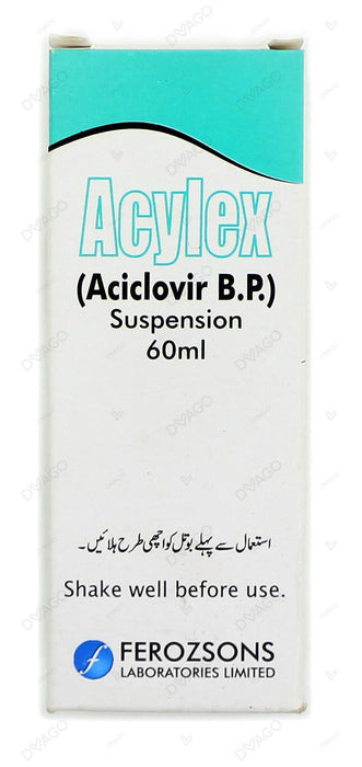 Acylex Suspension 200mg 60ml