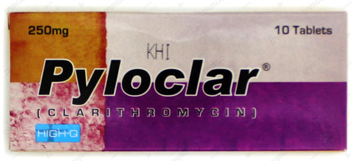 Pyloclar Tablets 250mg 10's