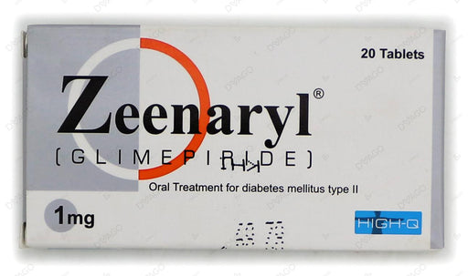 Zeenaryl Tablets 1mg 2X10's