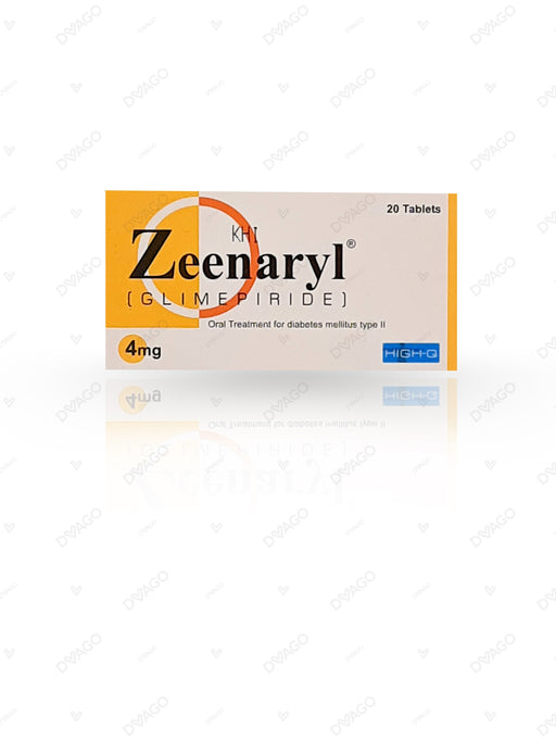 Zeenaryl Tablets 4mg 2X10's