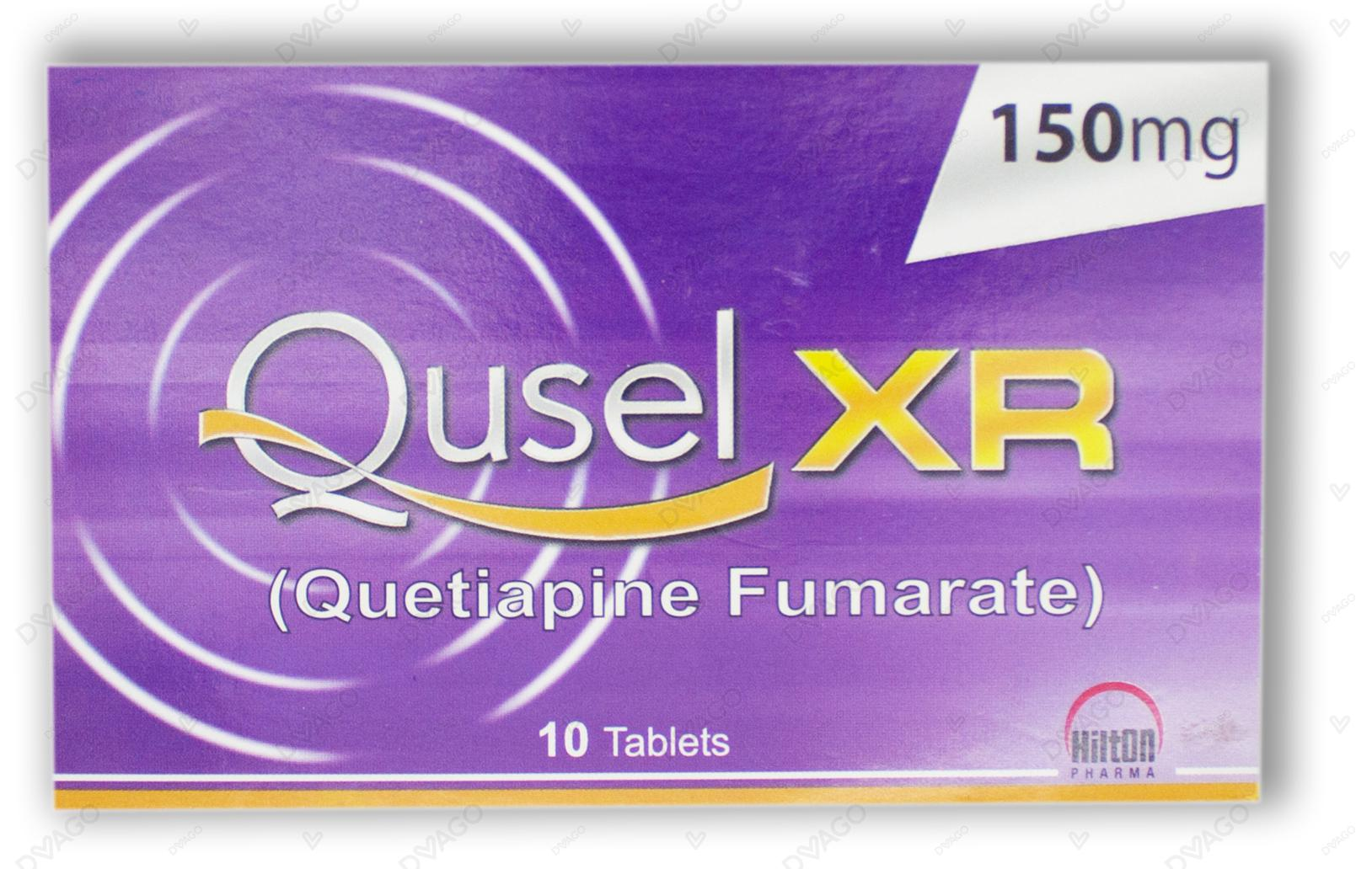 Qusel Tablets Xr 150mg 10's