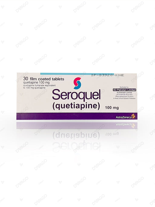 Seroquel Tablets 100mg 30's