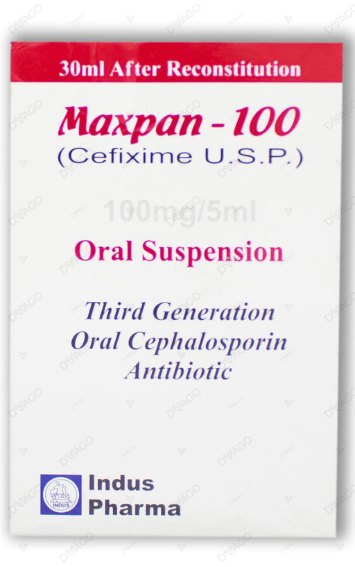 Maxpan Suspension 100mg 30ml