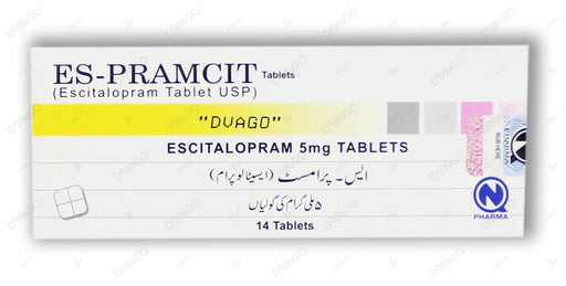 Es-Pramcit Tablets 5mg 14's