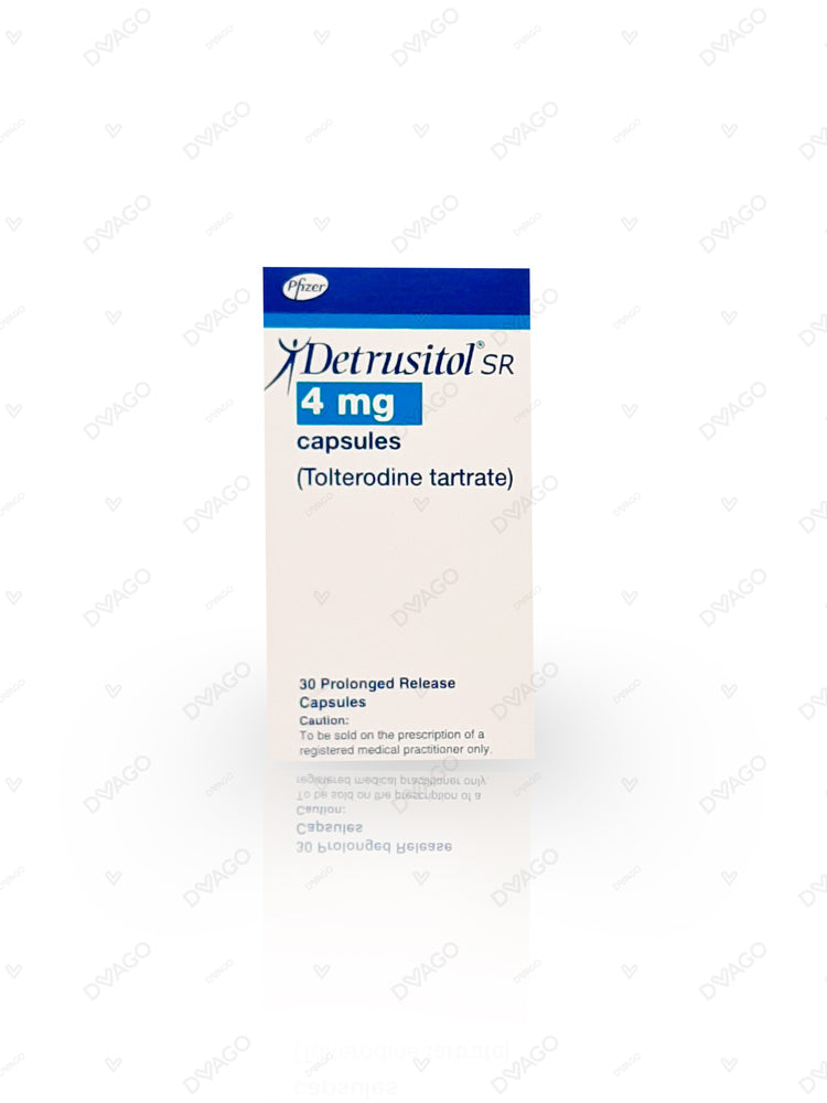 Detrusitol Capsules 4mg 30's