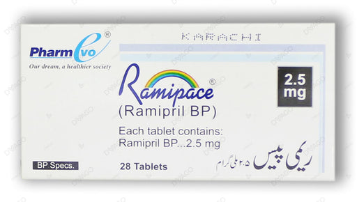 Ramipace Tablets 2.5mg 10's
