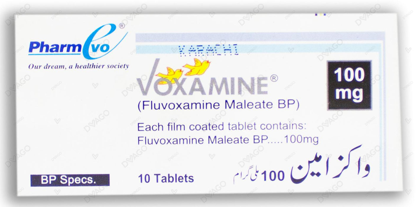 Voxamine Tablets 100mg 10's