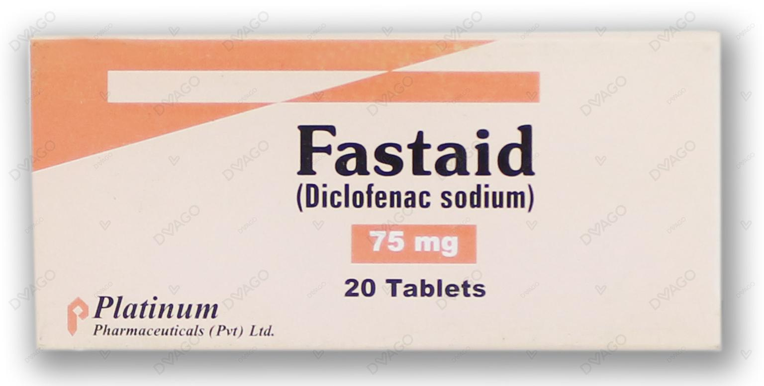 Fastaid Tablets 75mg 2X10's