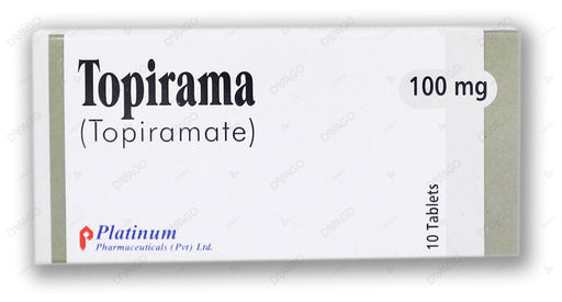 Topirama Tablets 100mg 10's