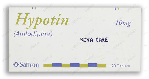 Hypotin Tablets 10mg 2X10's