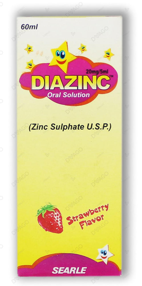 Diazinc Suspension 20mg 60ml