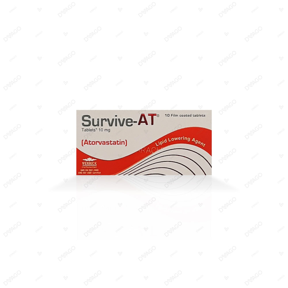 Survive-At 10mg Tablets 10's