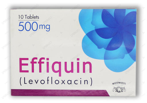 Effiquin Tablets 500mg 10's