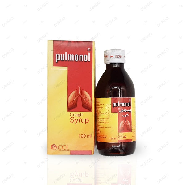 Pulmonol Cough Syp 120 ml