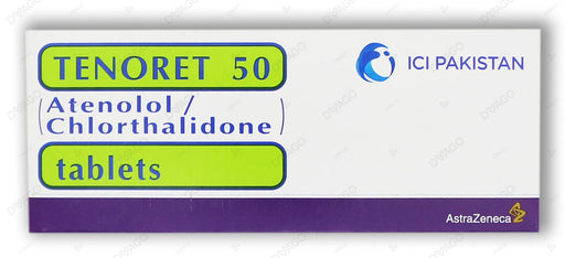 Tenoret 50 Tablets 50mg 14's