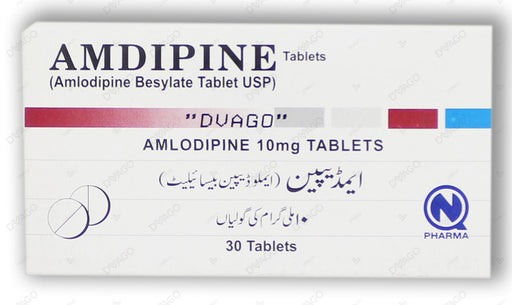 Amdipine Tablets 10mg 3X10's