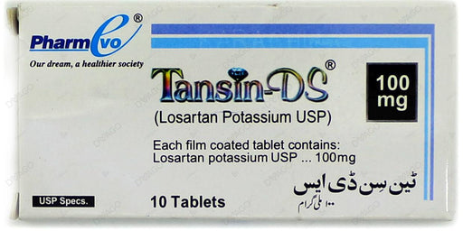 Tansin Tablets Ds 100mg 10's