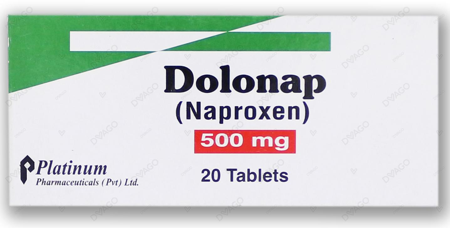 Dolonap 500mg Tablets 20's