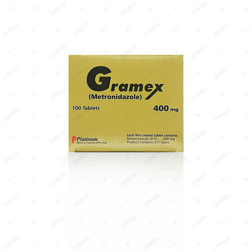 Gramex Tablets 400mg 10X10's