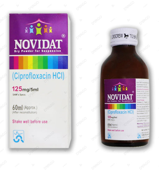 Novidat Suspension 125mg 60ml