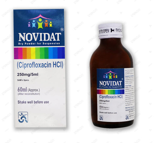 Novidat Suspension 250mg 60ml