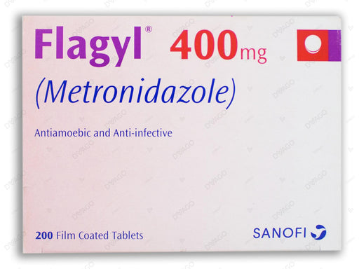 Flagyl Tablets 400mg 20X10's