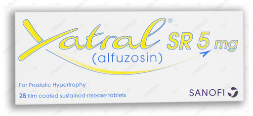 Xatral-Sr Tablets 5mg 2X14's