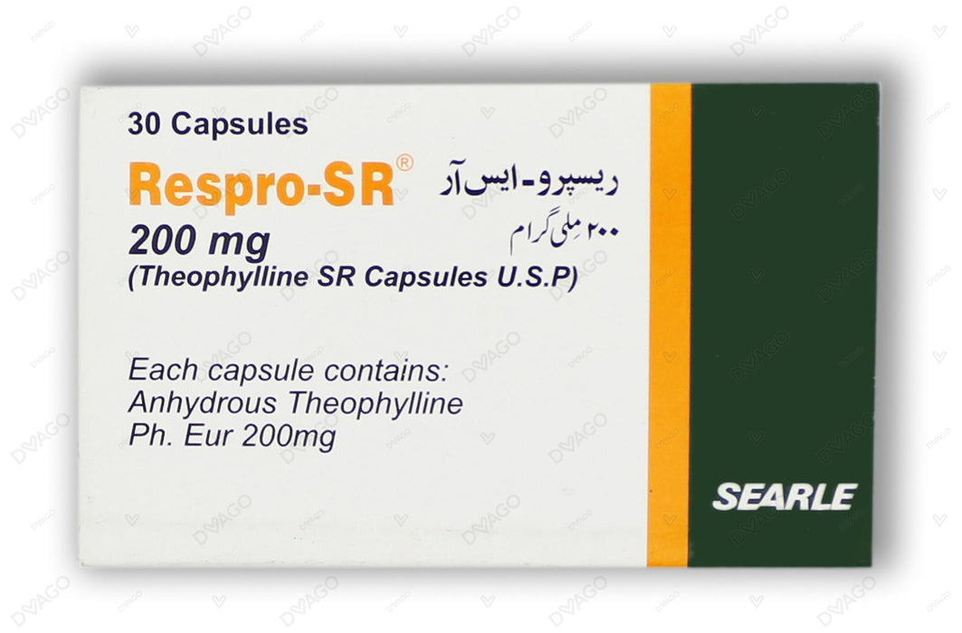Respro Sr Capsules 200mg 30's