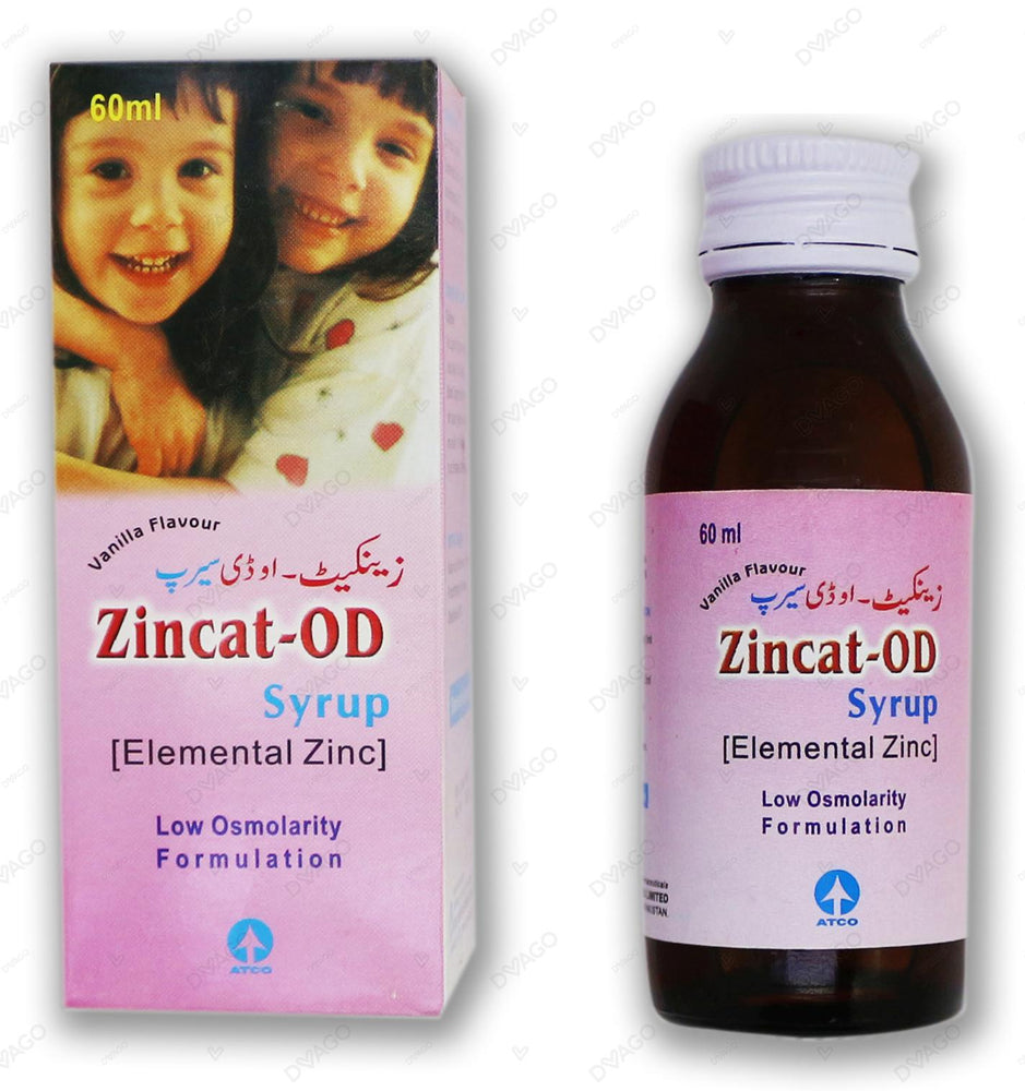 Zincat Od Soln 20mg 60ml
