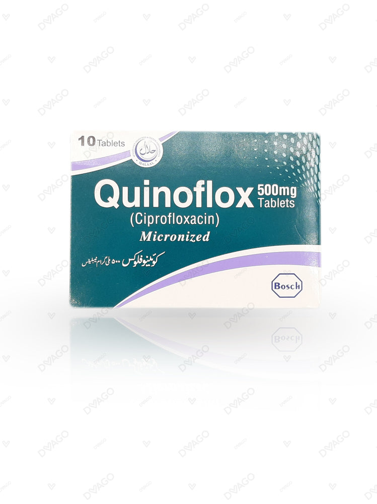 Quinoflox Tablets 500mg 2X5's