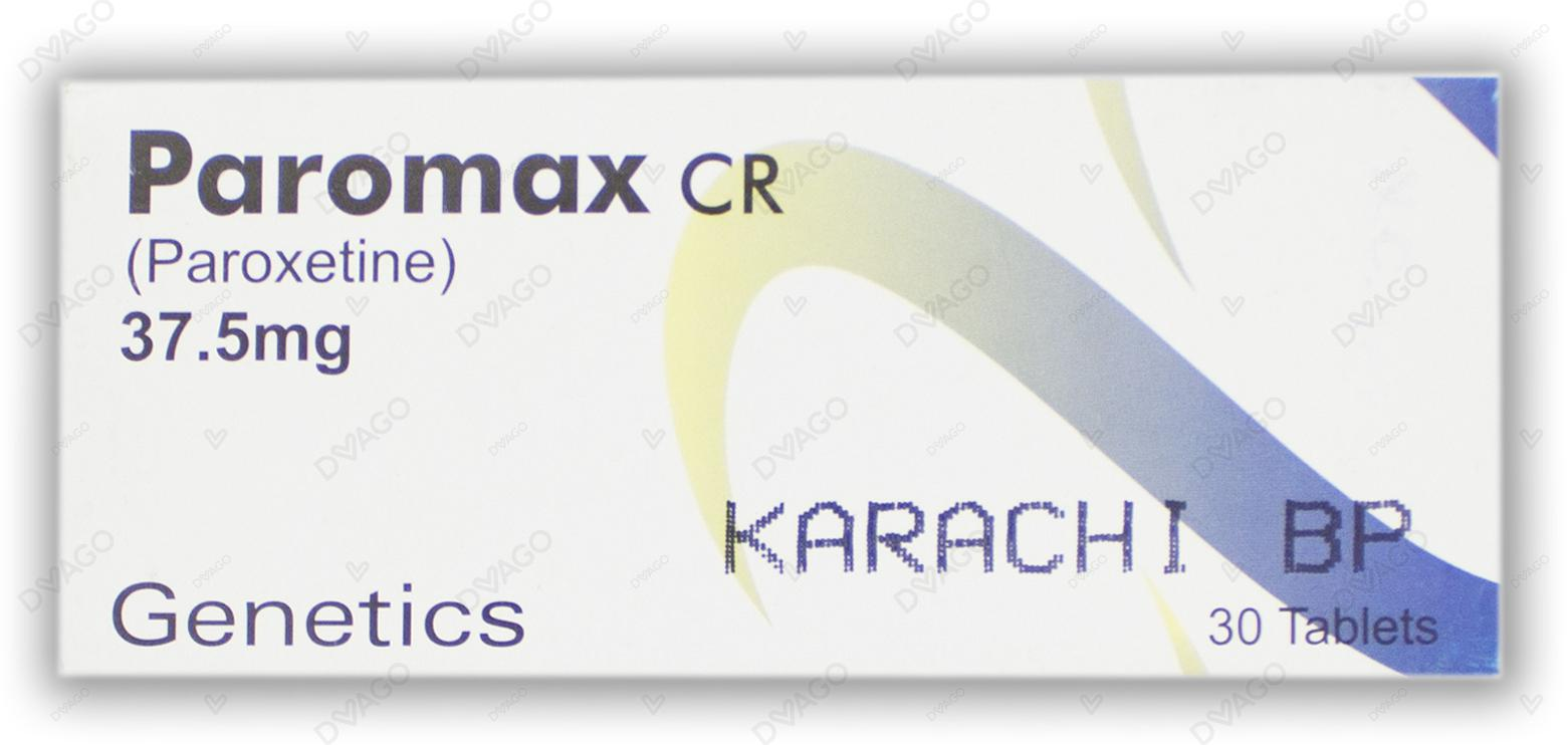 Paromax Cr 37.5mg Tablets 30's
