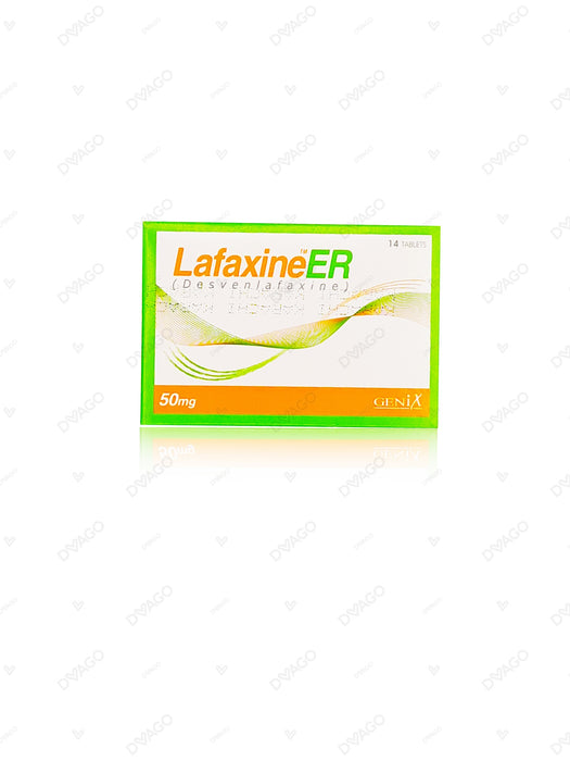 Lafaxine Tablets Er 50mg 14's