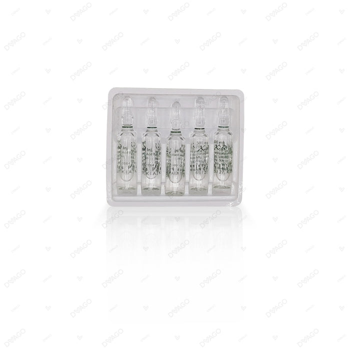 Xed Injection 500mg 10 Ampoules X 5ml