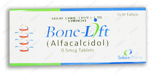 Bone-Lift Tablets 0.5mcg 30's