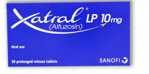 Xatral Lp Tablets 10mg 3X10's