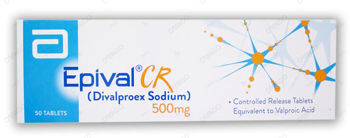 Epival Tablets Cr 500mg 5X10's