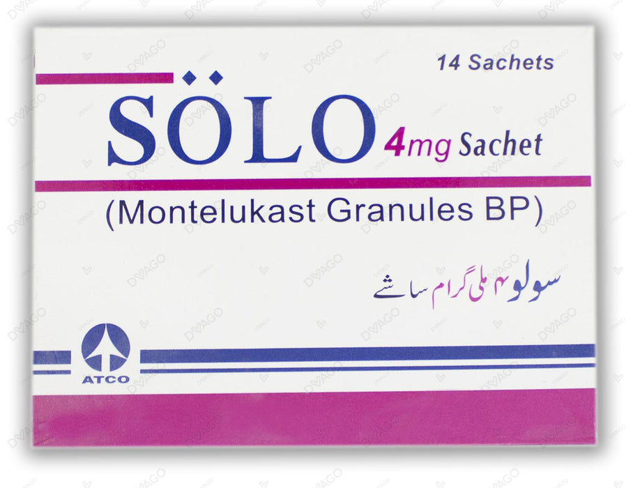 Solo Chewable Tablets 5mg 14's