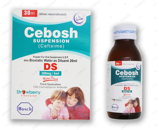 Cebosh Suspension Ds 200mg 30ml