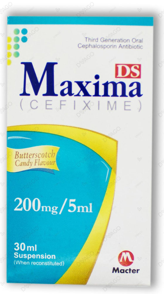 Maxima Suspension Ds 200mg 30ml